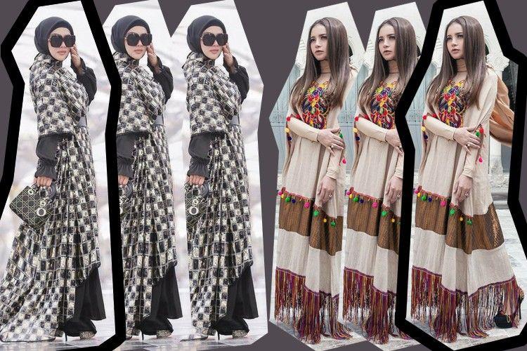 Mana yang Kamu Suka? Baju Lebaran ala Syahrini atau Rossa?