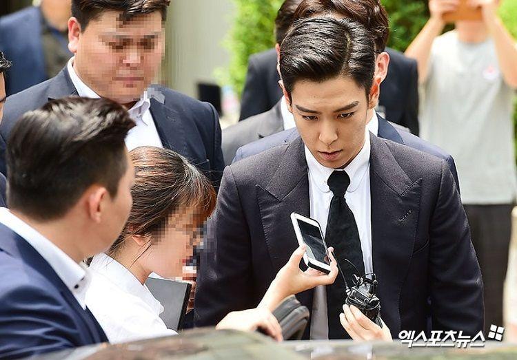 Konsumsi Ganja, T.O.P BIGBANG Divonis 10 Bulan Penjara