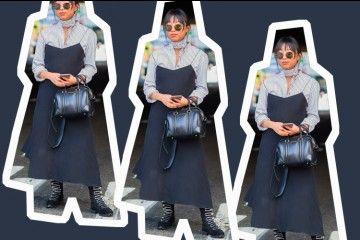 #PopbelaOOTD: Jangan Ragu Mengkombinasikan Dress dan Kemeja!