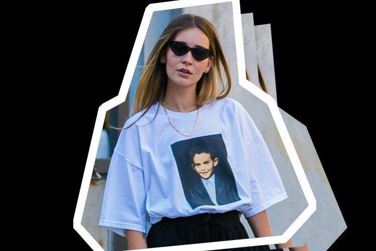 #PopbelaOOTD: Tips Keren Pakai T-shirt Oversize