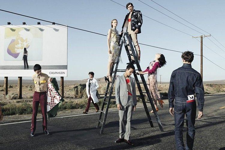 Debut Kampanye Iklan Ready-to-Wear Raf Simons untuk CK