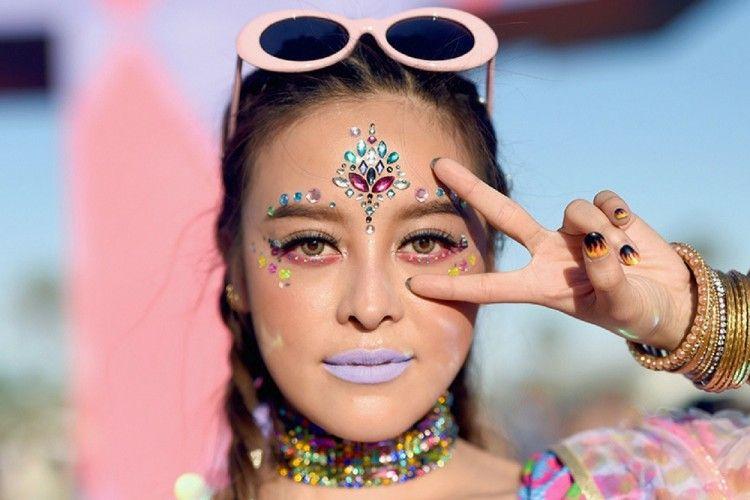 5 Tips Makeup Nggak Cepat Luntur Saat Nonton We The Fest 2017