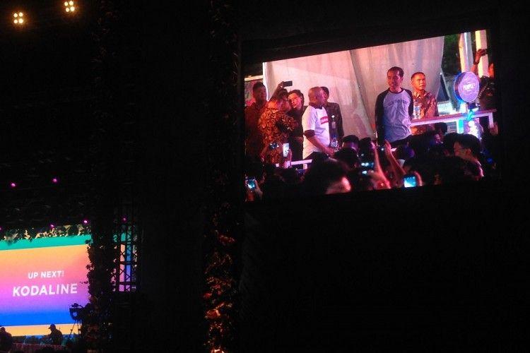 Jokowi Mendadak Jadi Tamu Istimewa di WTF 2017