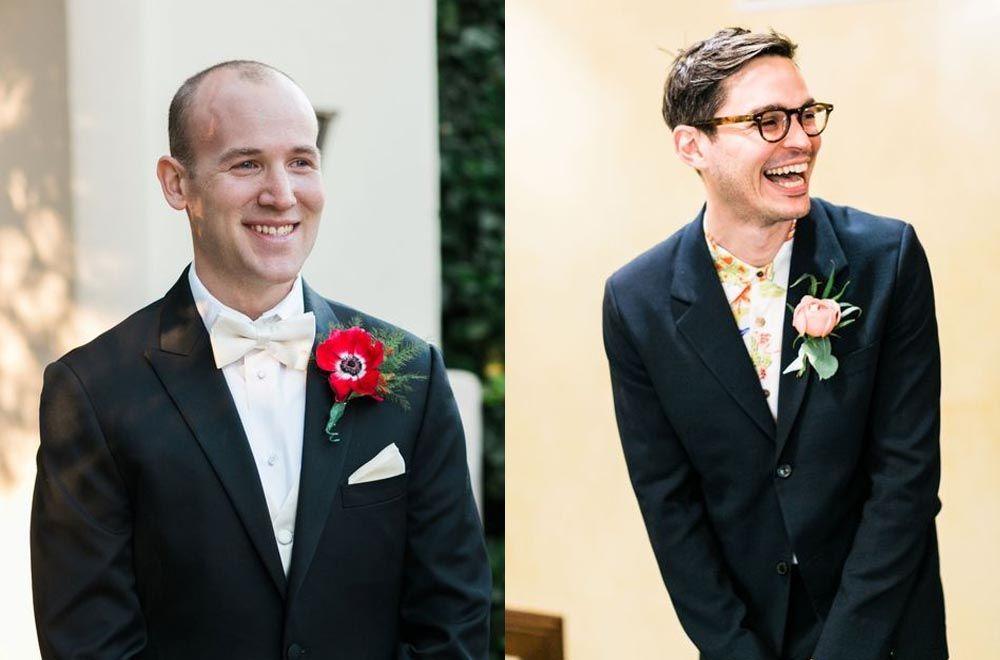 Bikin Baper, Ini Ekspresi Pengantin Pria di Hari Pernikahannya