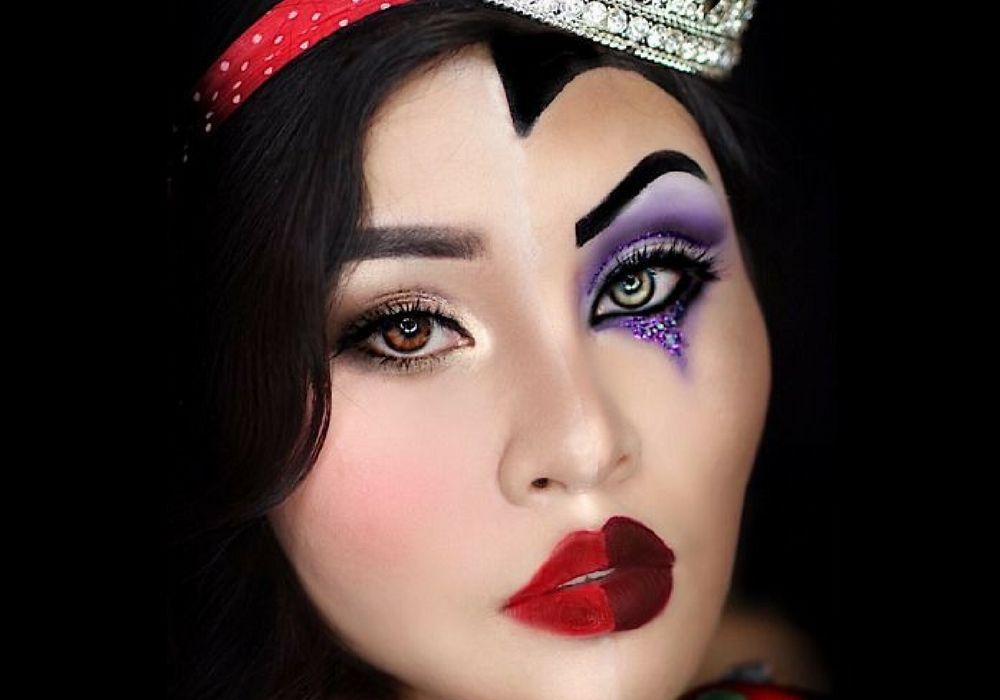 Kreatif! Wanita Ini Bikin Riasan Dongeng Disney yang Beda Banget