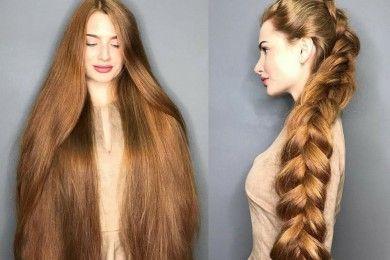 Panjang Rambut Melebihi Bokong, Cewek Ini Mirip Rapunzel