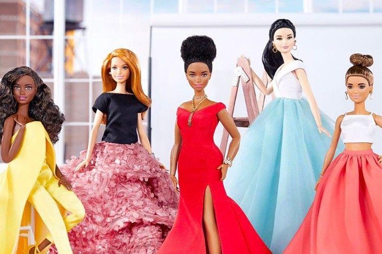 Gunakan Tema Diversity, Desainer Ini Hadirkan 5 Barbie Cantik