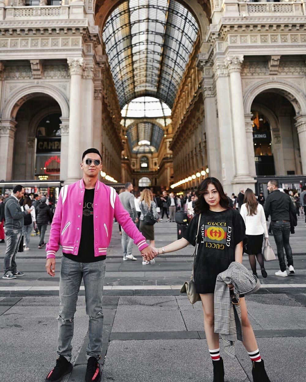 Couple Goals! 9 Potret Seru Nikita Willy dan Pacar Saat Travelling