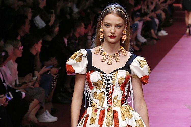 Terinspirasi Makanan, Ini Koleksi Terbaru dari Dolce & Gabbana