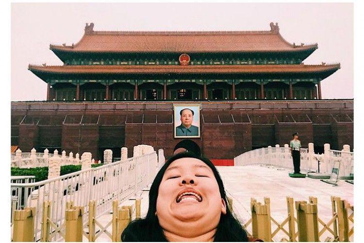 Perempuan Asal Tiongkok Patahkan Standar Cantik di Media Sosial