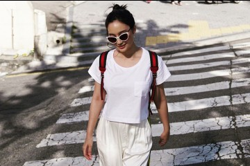 #PopbelaOOTD: Jadi Backpacker, Tatjana Saphira Tampil Trendi