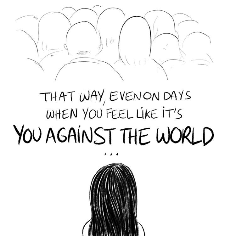 8 Ilustrasi Ini Mewakili Rasa Kecewa Saat Sahabat Tak Peduli Kepadamu