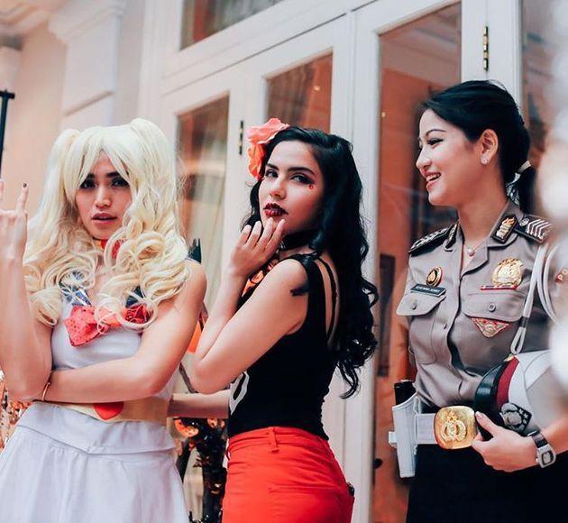Mendekati Halloween, Contek Penampilan 5 Seleb Tanah Air Berikut!
