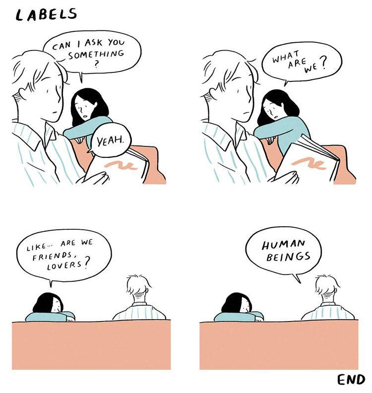 Realistis, 9 Ilustrasi Ini Sindir Kita tentang Pahit Manisnya Cinta