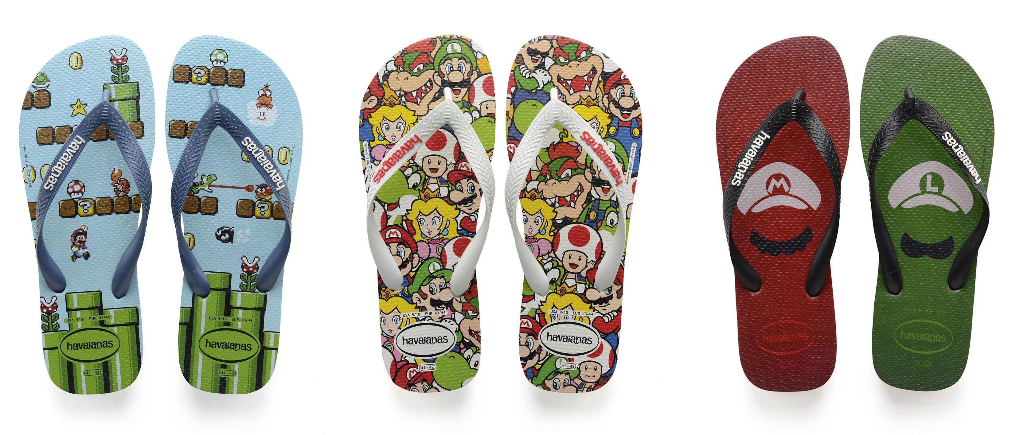 Super Cute! Havaianas Merilis Koleksi Sandal Bertema Kartun