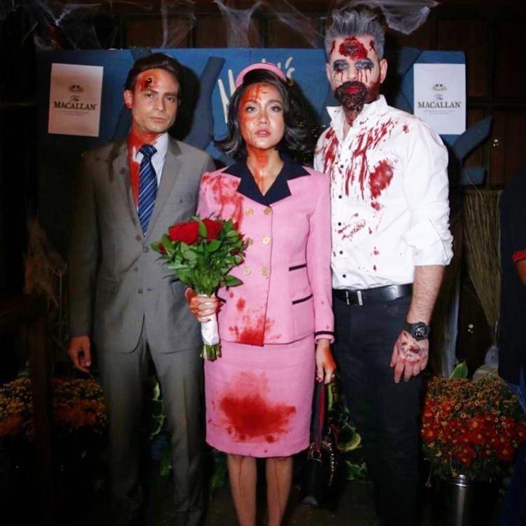 Kompak Banget, 6 Pasangan Artis Ini Tampil Memukau Saat Halloween