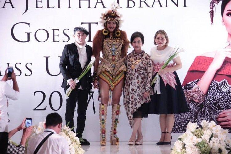 Bunga Jelitha akan Memakai Kostum Orangutan di Miss Universe 2017