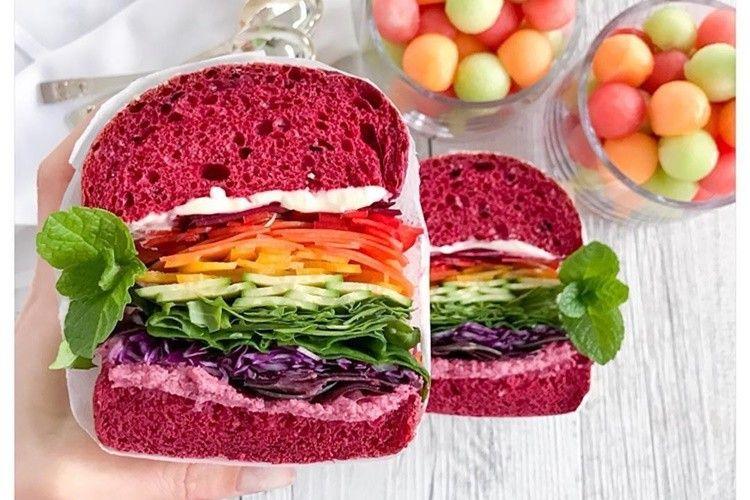 Rainbow Food, Makanan yang Instagramable dan Sayang untuk Dimakan