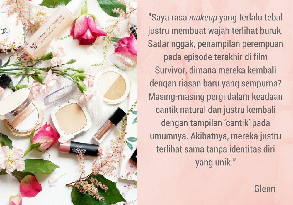 Tampil Natural Lebih Cantik? Ini Pendapat Jujur Pria Soal Makeup