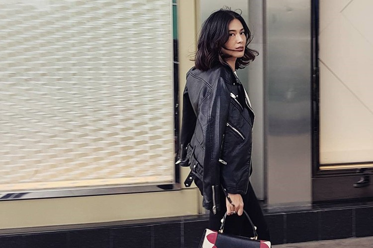 #PopbelaOOTD: Dian Sastro Tampil Rock Chic