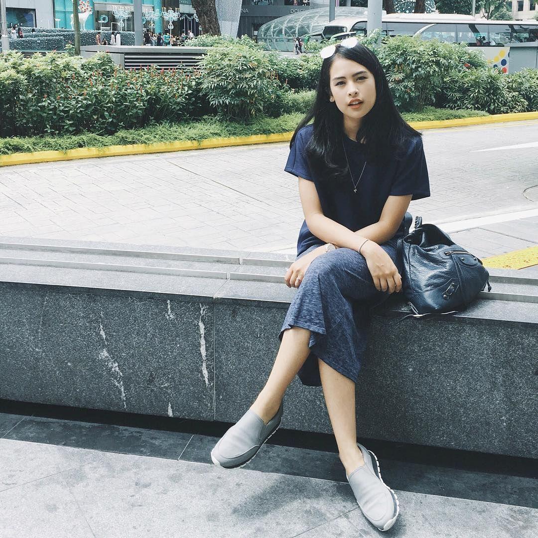 Simpel Tetap Chic Saat Ke Kampus Tiru Gaya Maudy Ayunda Yuk