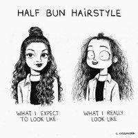 7 Ilustrasi Lucu Ini Ungkap Masalah Rambut Wanita yang Nggak Dipahami Pria