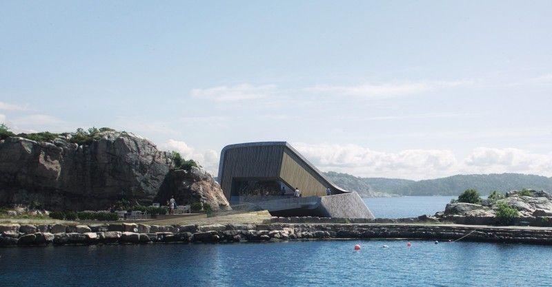 Keren! Begini Tampilan Restoran Bawah Laut Pertama di Eropa