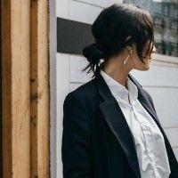 #PopbelaOOTD: Tampil Elegan dengan Black Coat A la Tatjana Saphira