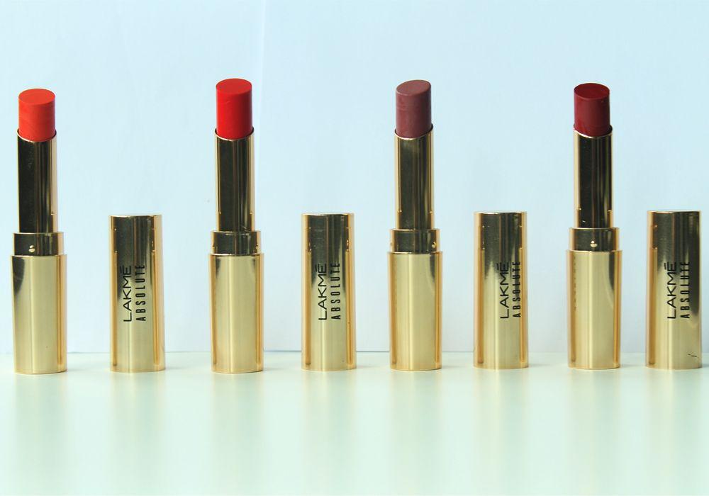 #Review: Lakmé Absolute Argan Oil Lip Color
