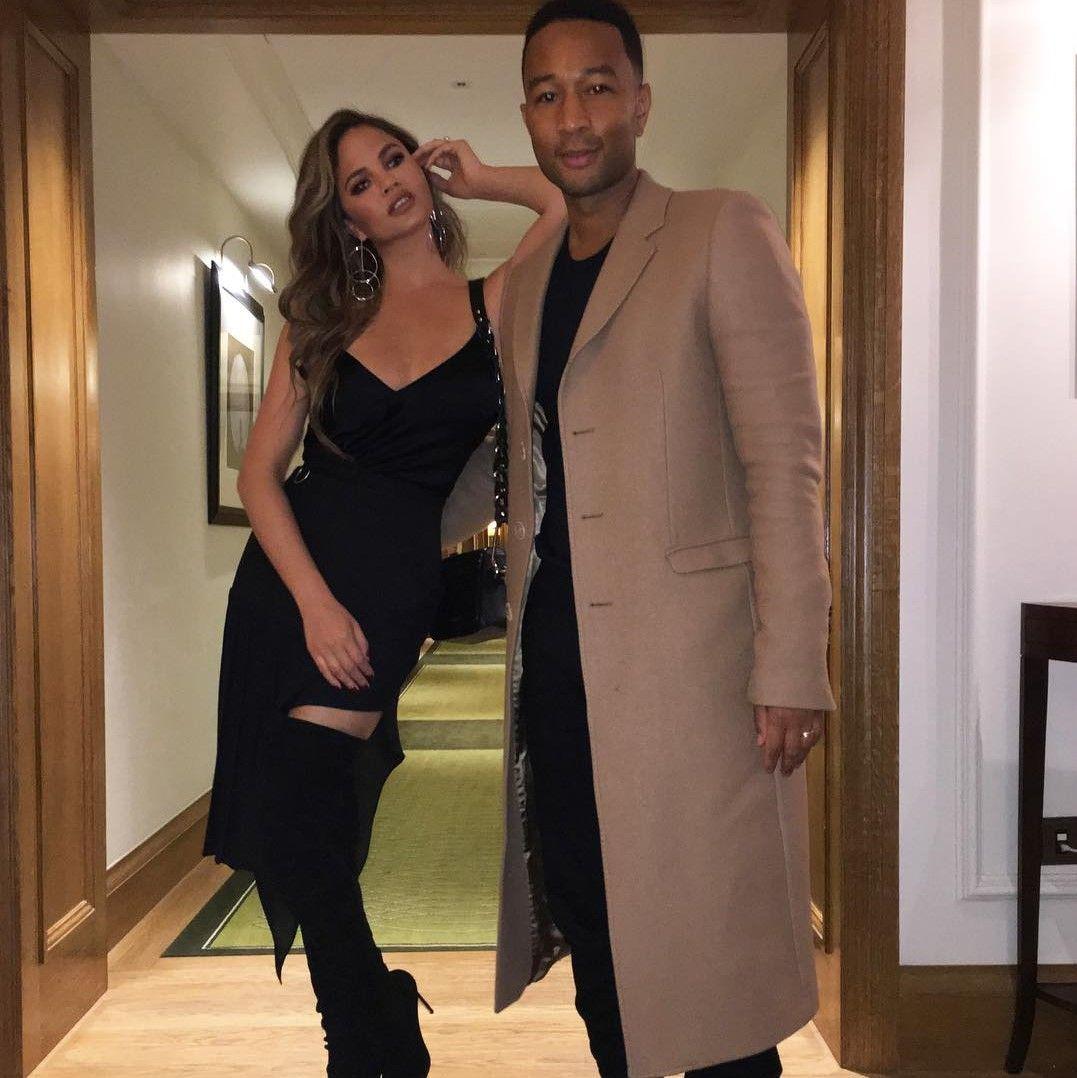 Gaya Kompak menjadi Kunci Hubungan Langgeng John Legend dan Chrissy Teigen
