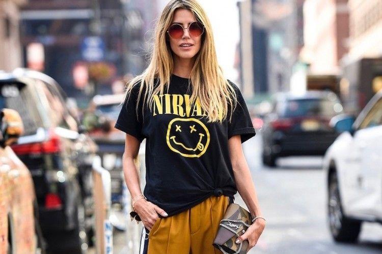 4 Tips n Trik Tampil Modis Pakai T-shirt Saat ke Kampus