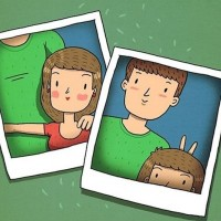 10 Ilustrasi Ini Gambarkan Suka Duka Punya Pacar Tinggi