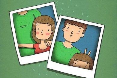 10 Ilustrasi Ini Gambarkan Suka Duka Pu Pacar Tinggi