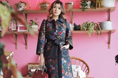 Tren Floral a la Fashion Influencer Wajib Diintip