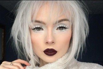 Pakai Eyeshadow Putih, Cewek Ini Hasilkan Makeup Menawan