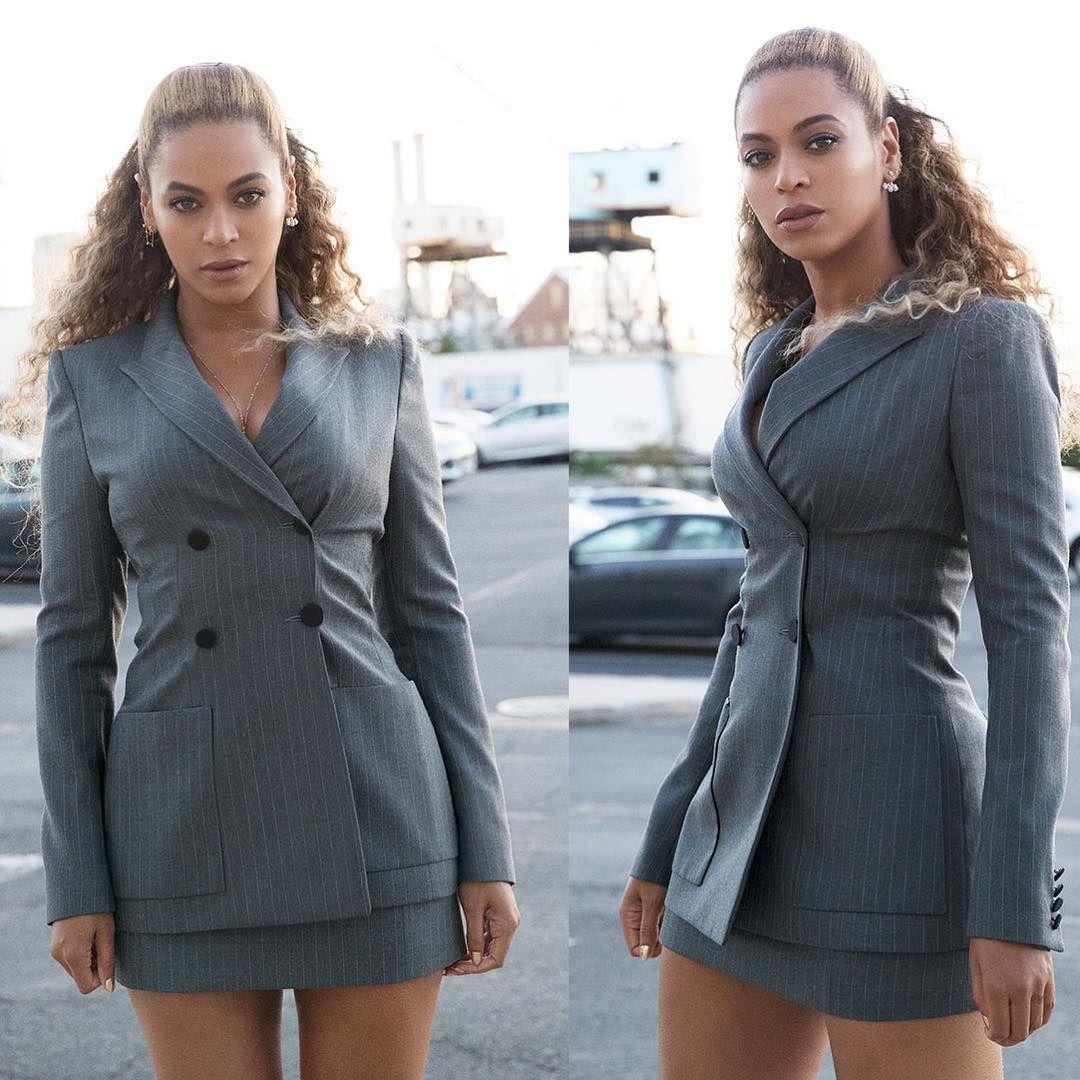 Simak Cara Beyonce Mix n Match Rok Agar Terlihat Total