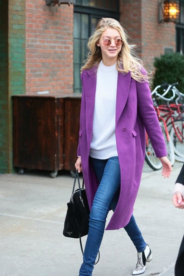 wearing-skinny-jeans-white-sweater-purple-coat-patternedpopsugar-67ba36ff825fa5db650a4c429ce4b5b6.jpg