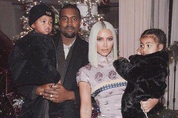Kim Kardashian & Kanye West Menyambut Bahagia Anak Ketiganya