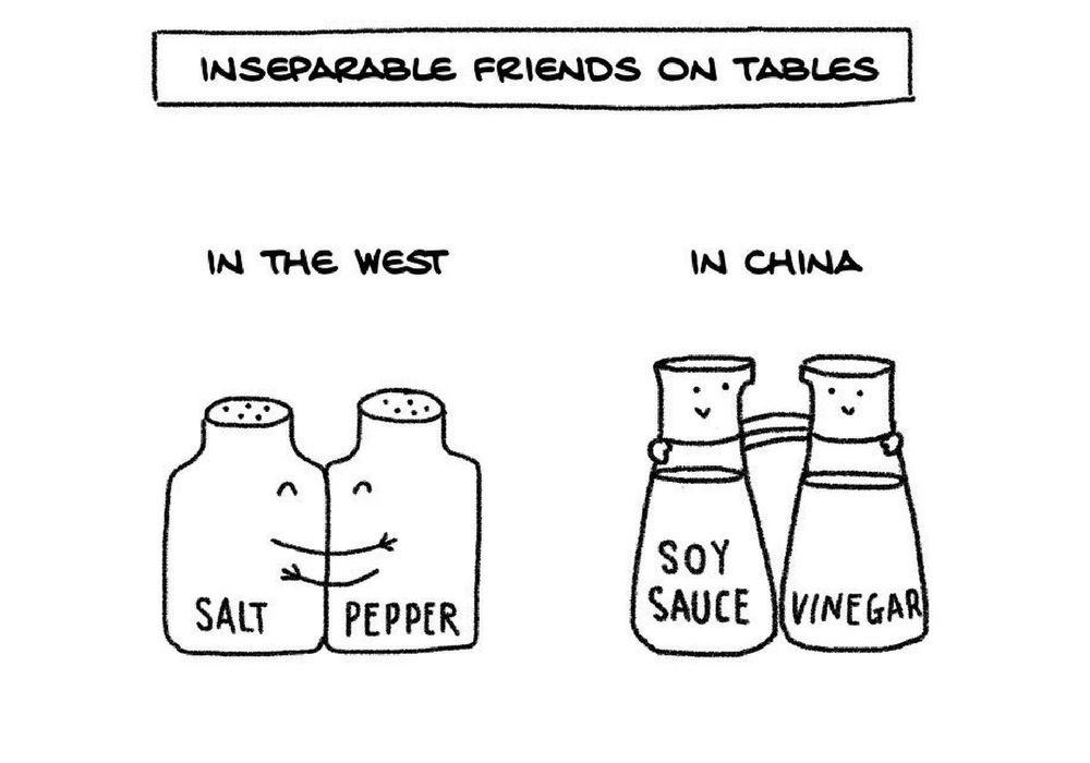 Komikus Ini Ceritakan Keunikan Antara Budaya Cina dan Barat