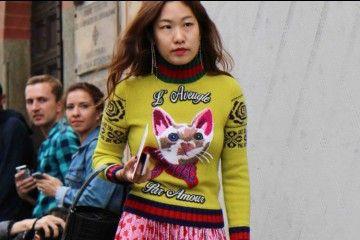 #PopbelaOOTD: Sweter Glamor untuk ke Pesta