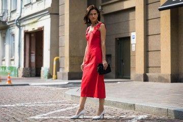 Padu-padan Dress Warna Merah Untuk dikenakan Saat Imlek