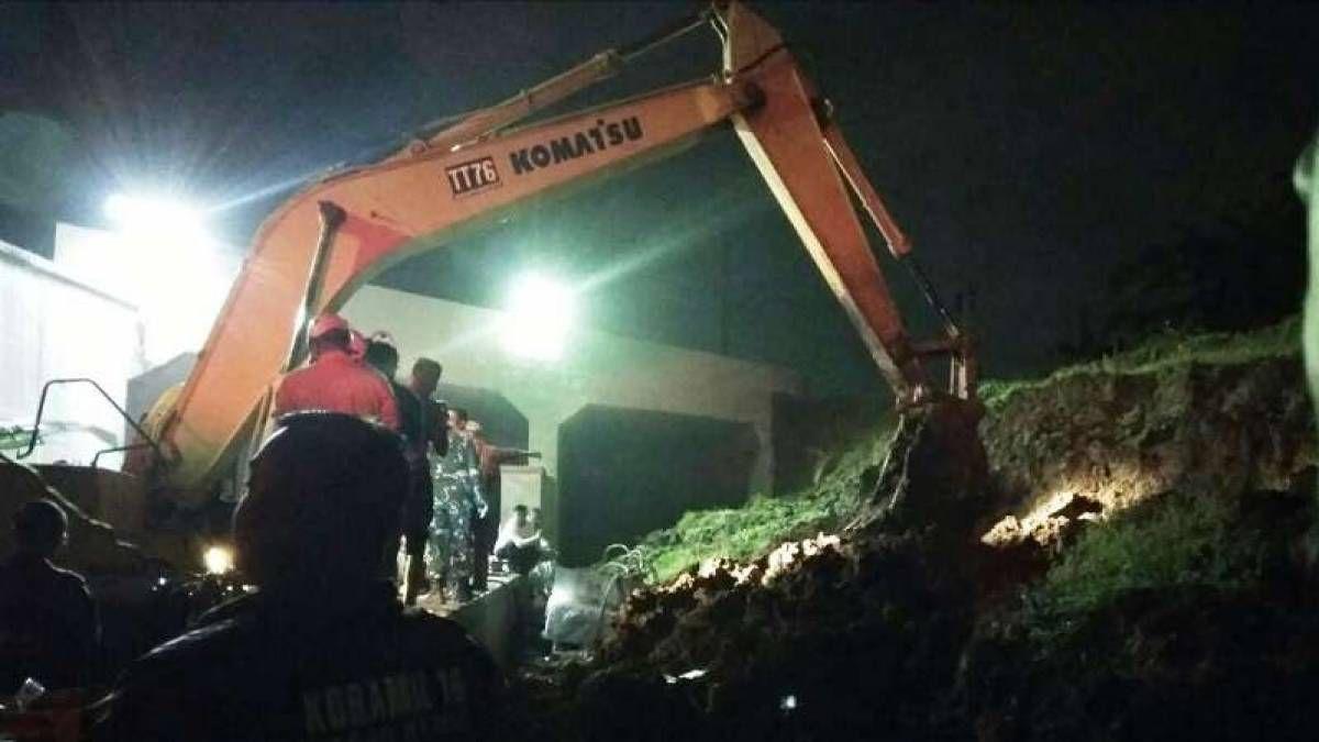 Begini Kronologi Bencana Longsor di Underpass Bandara Soekarno Hatta