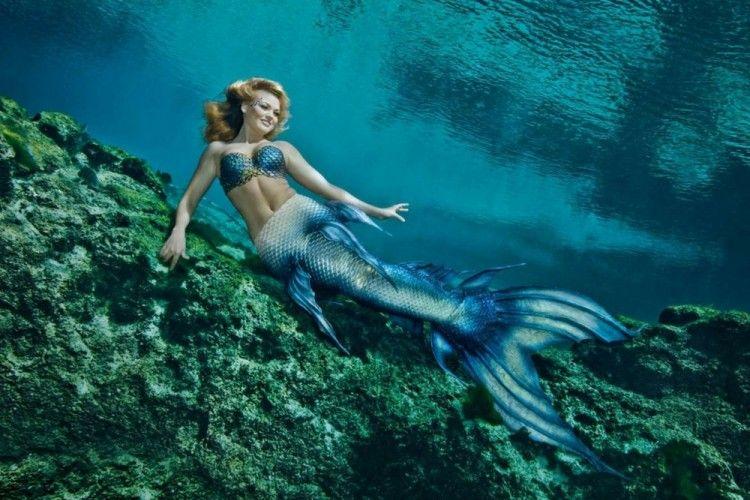 Anti Mainstream Ternyata Pekerjaan Jadi Mermaid Itu Nyata Lho