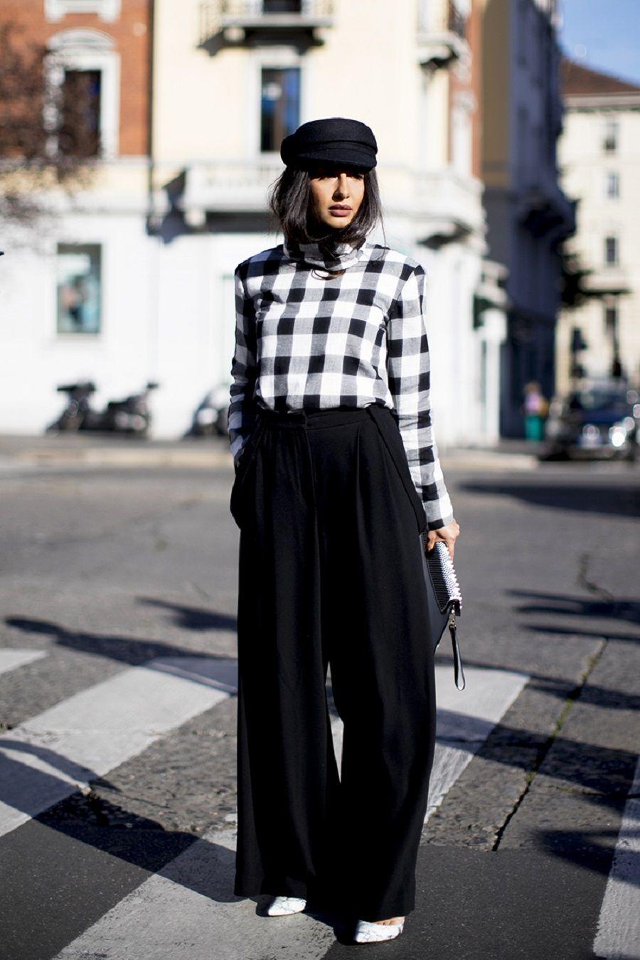 Model fashion atasan Gingham akan membuat kamu semakin ngetren.