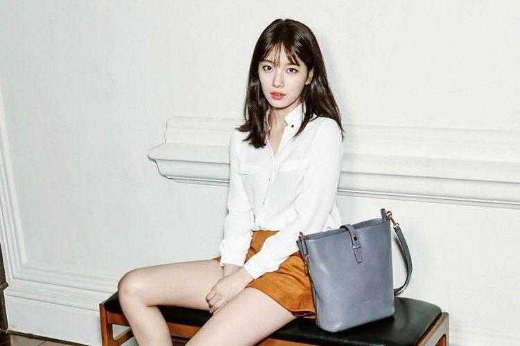 Inspirasi OOTD a la Cewek Korea dari Bae Suzy