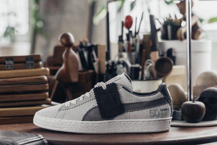'Sample Suede' Sepatu Hasil Kolaborasi Antara PUMA dengan Michael Lau