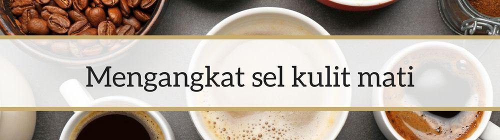 manfaat masker kopi untuk wajah