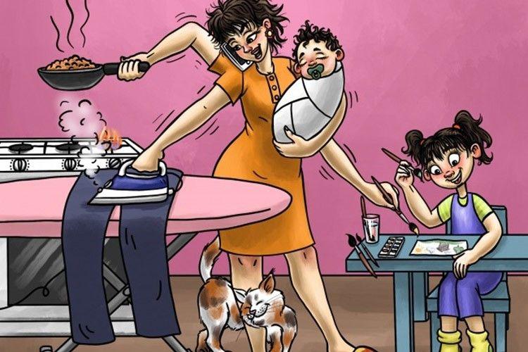7 Ilustrasi Ini Tunjukkan Tanda Cinta Ibu yang Sering Diabaikan Seorang Anak