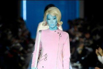 Deretan Gaya Rambut Unik dan Cantik dari Milan Fashion Week 2018