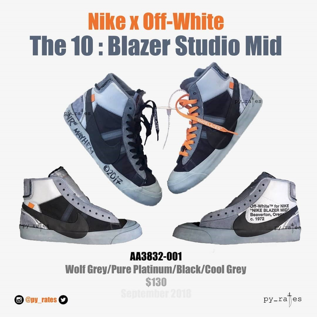 Bocoran Koleksi Sepatu Nike x Virgil Abloh yang Baru, Serius Keren!